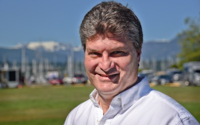 Comox mayoral candidate Tom Diamond has a vision