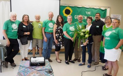 Furstenau Sets Tone at Green Party AGM