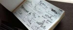 Le storyboard de Dune couvre la totalité du film imaginé par Jodorowsky, et dessiné par Mœbius