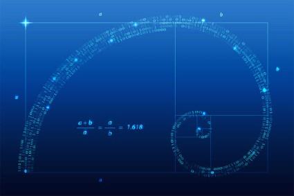 La spirale du Nombre d'Or, Phi