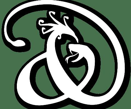 Le logo d'écaille & de plume