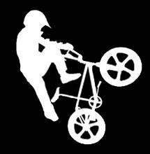 bmx bike decal