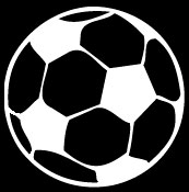 soccer ball decal