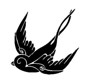 sparrow decal