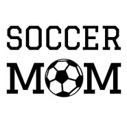soccer mom iron-on