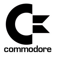 commodore with words logo iron-on