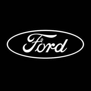 ford logo outline decal