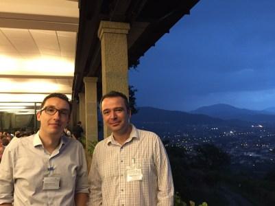 Bogdan and Vladimir at FSE 2015 in Bergamo, Italy.