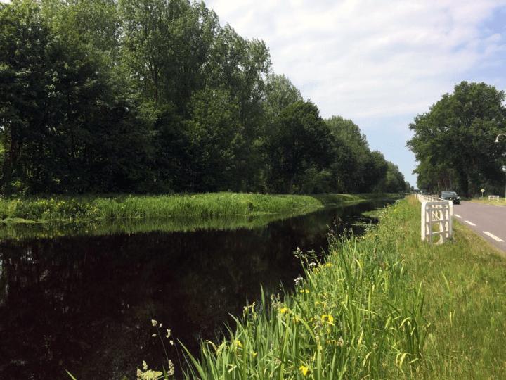 De Canicula op de Kolonievaart in Veenhuizen