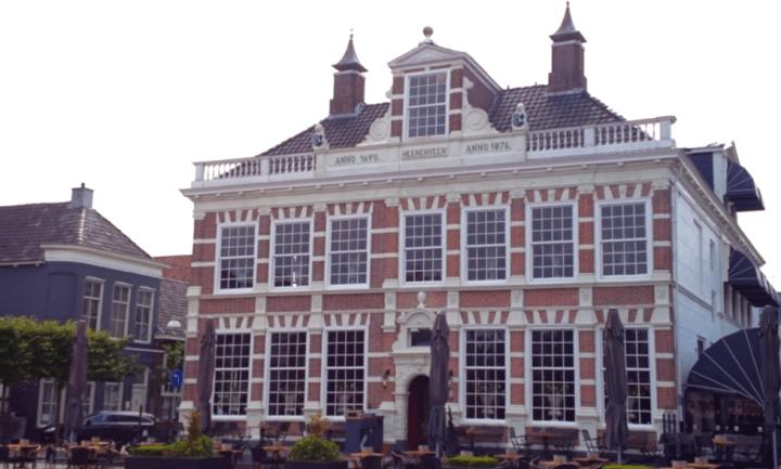 Heerenveen, de voormalige stins Oenemastate uit 1640 - De Canicula