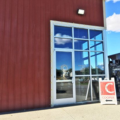Cooper Wines tasting room and production facility