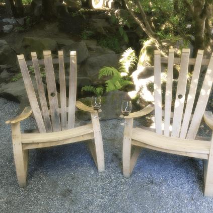 JM Cellars adirondack wine chairs