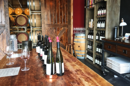 Barrage Cellars tasting room