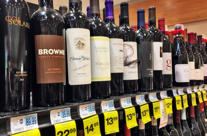 Washington wine at Rite Aid Pharmacy