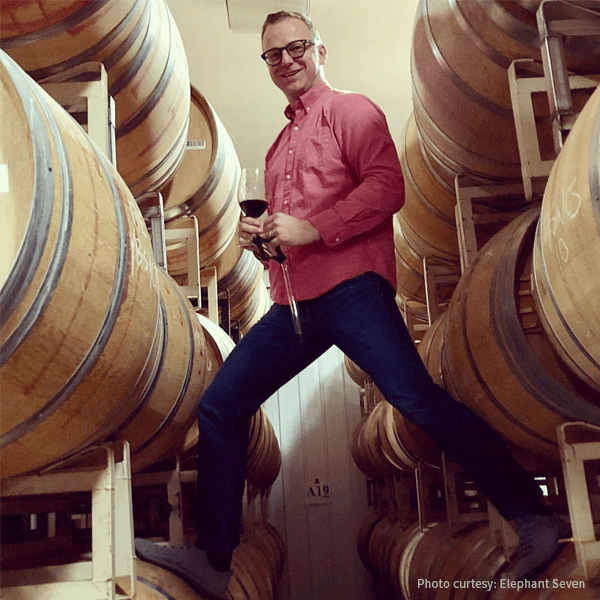 Elephant Seven winemaker, Josh West
