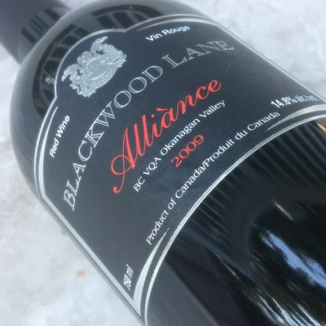 Blackwood Lane Winery 2009 Alliance