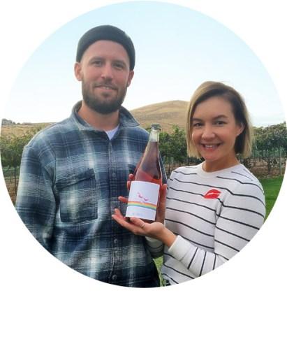 Seth and Audrey Kitzke, Upsidedown Wine