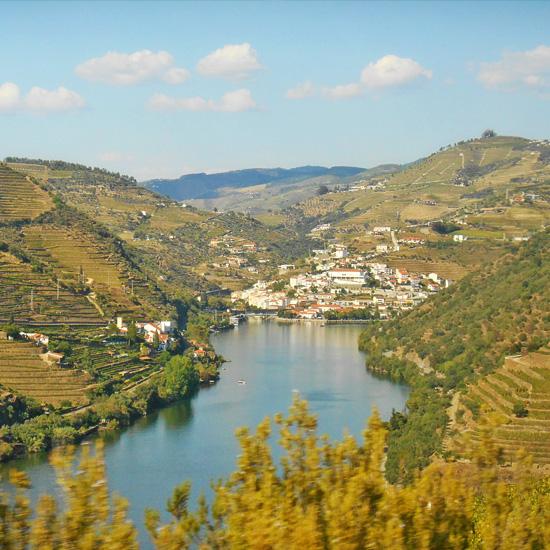 Town of Pinhão, Douro Valley