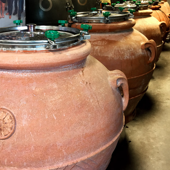 Okanagan Crush Pad amphoras