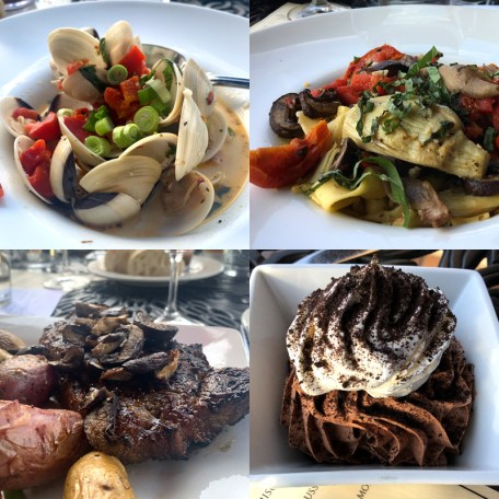 Cuisine at Tsillan Cellars Sorrento's Ristorante in Lake Chelan, WA