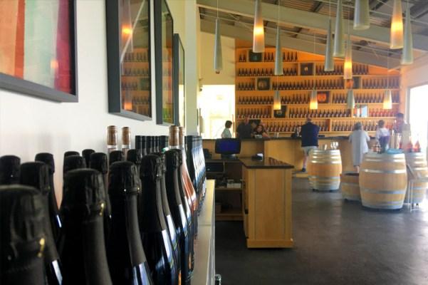 Tantalus Vineyards tasting room