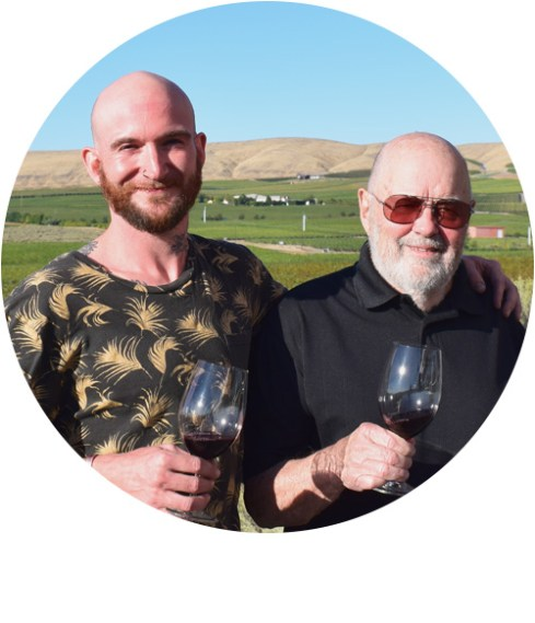 Tyler and John Williams, Kiona Vineyards