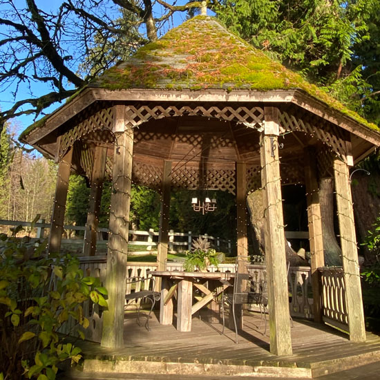 Gazebo at Chateau Lill, Woodinville, WA