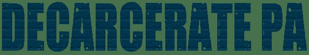 Decarcerate PA logo