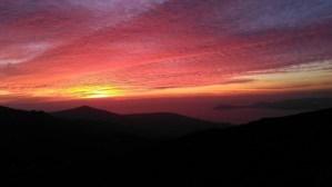 Sol en Galicia