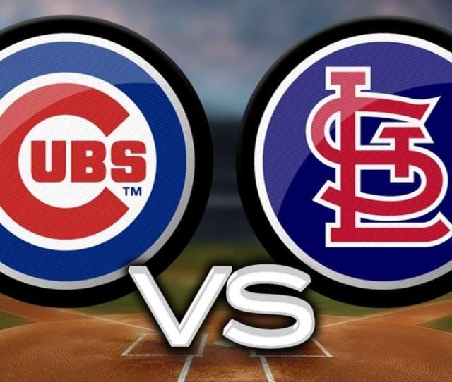 Cubs V S Cardinals