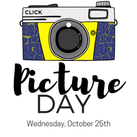 Picture Day – Wednesday, October 25th