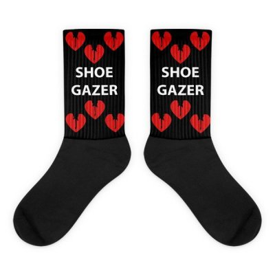 Red Heart Shoegazer Socks