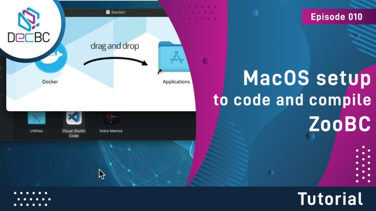 MacOS setup to code and compile ZooBC