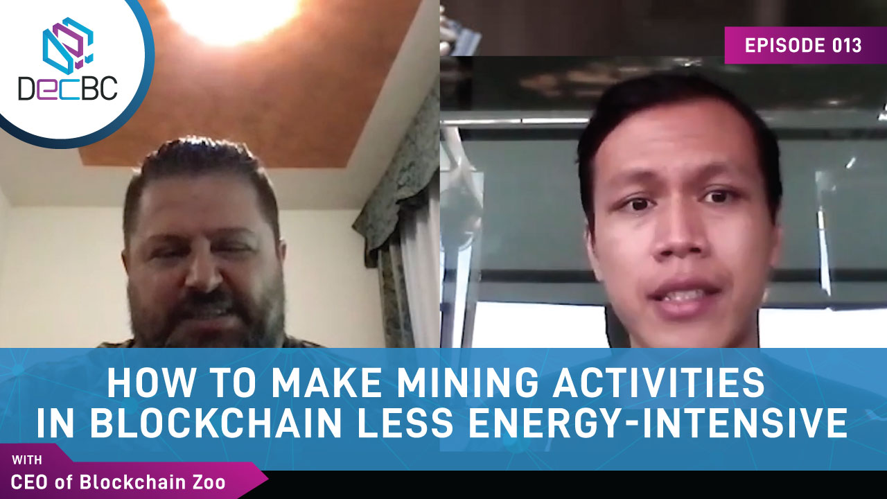 How to make mining activities in blockchain less energy-intensive