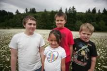 Jordan, Gaby,Logan, Brendan