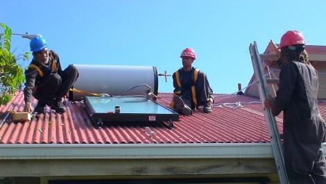 solar installation haiti