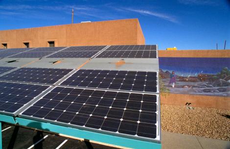 solar and adobe