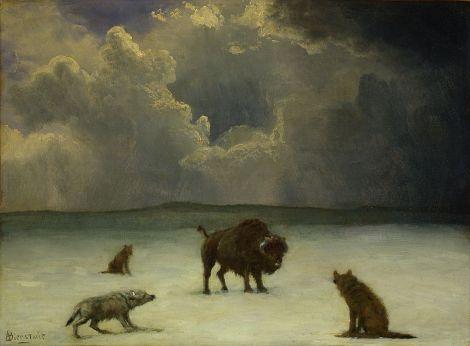 800px-Albert_Bierstadt_-_Trapped