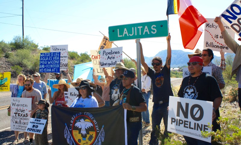 March on Lajitas