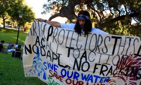 Standing Rock solidarity action