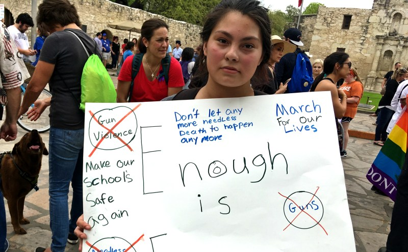 march for our lives san antonio