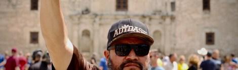 Cesar E Chavez March for Justice in San Antonio.