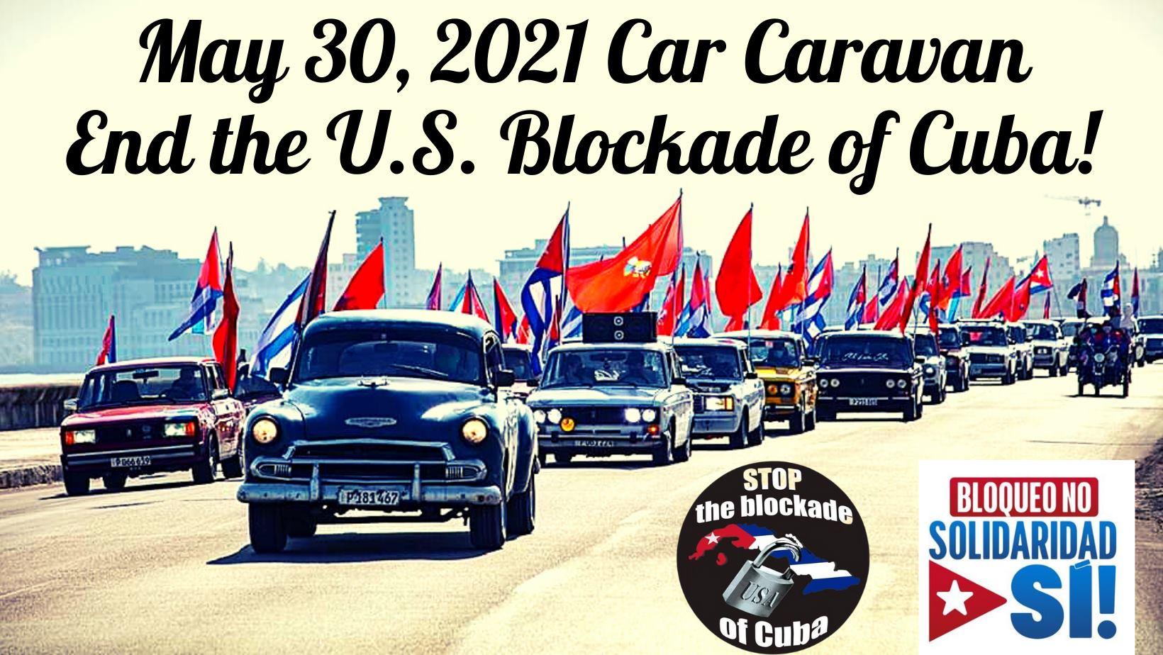blockade of cuba caravan
