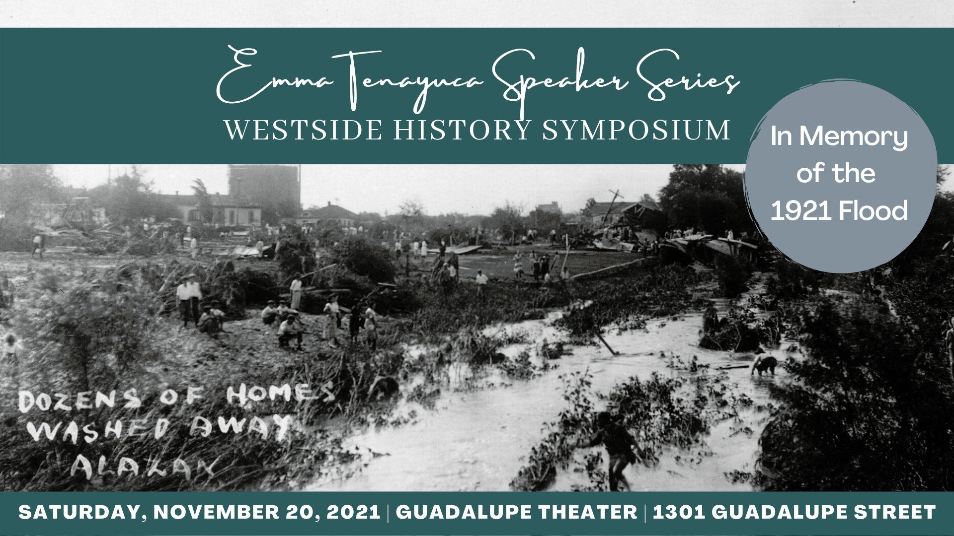 2021 Westside History Symposium: In Memory of the 1921 Flood