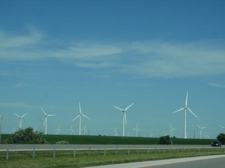 Several Wind Turbines