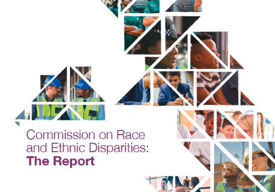 Sewell Report into racial and ethnic disparities in the UK.