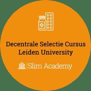 Decentrale Selectie geneeskunde cursus LUMC Leiden University