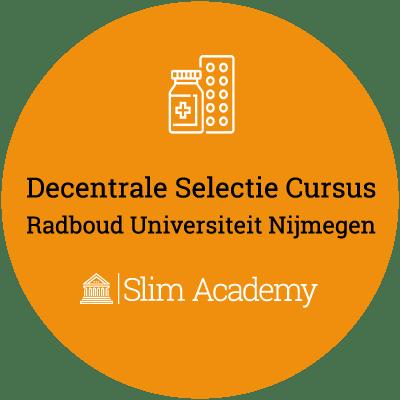 Decentrale Selectie geneeskunde cursus RUN Radboud Nijmegen