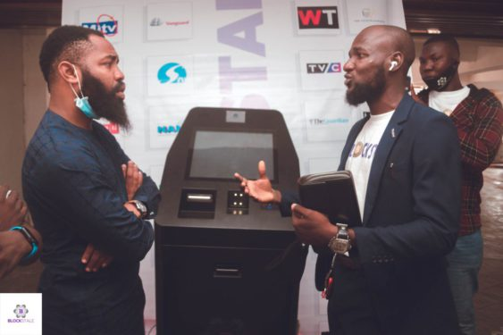 Nigeria's popular Instagram comedian, Woli Arole, amongst other notable names, present in the Bitcoin ATM launching.
