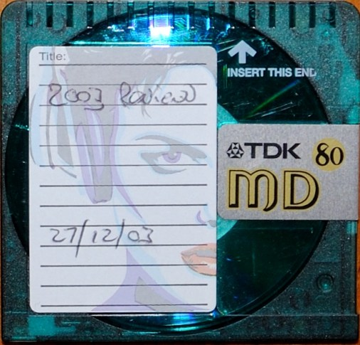 Mini Disc Recording of the 2003 Review